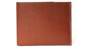 Leather Billfold Wallet in Tan